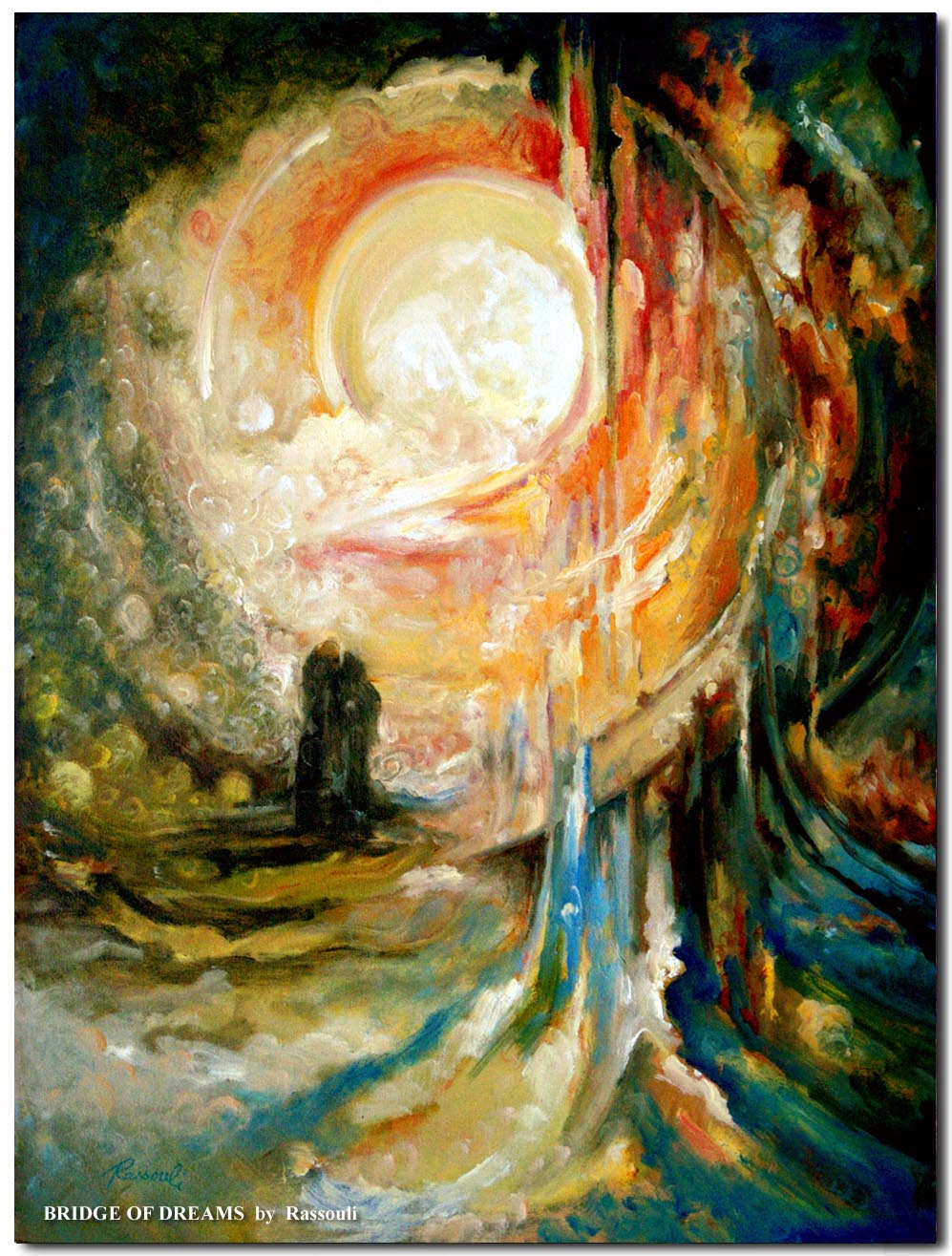 Abstract landscape paintings by freydoon rassouli for Fine art paintings for sale online
